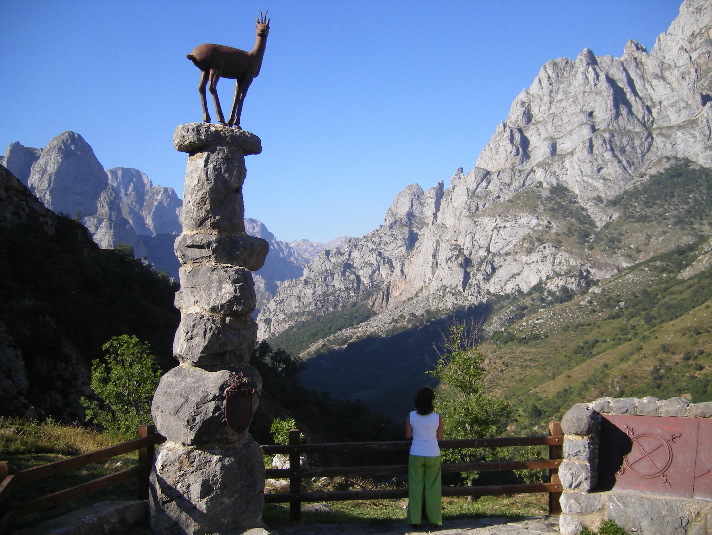 Mirador del Tombo de Cordiñanes. Posada de Valdeón (León).
